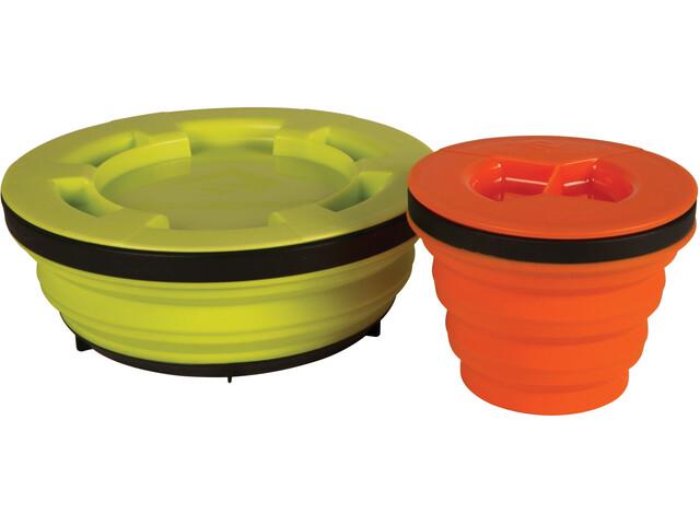 Sea to Summit X-Seal & Go Set Small lime/orange